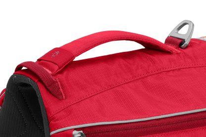 Ruffwear Singletrak Pack Red Currant koppelfäste