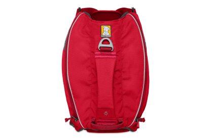 Ruffwear Singletrak Pack Red Currant ovanifrån