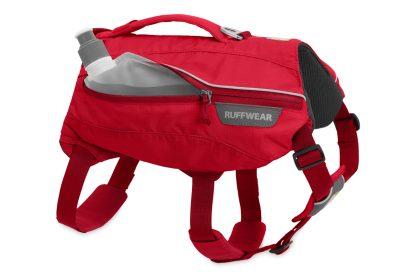 Ruffwear Singletrak Pack Red Currant flaska