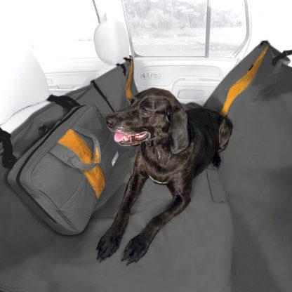 Kurgo Heather Hammock baksätesskydd hund