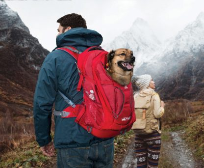 Kurgo Hund Ryggsäck på tur